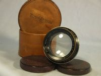 "'     COOKE TAYLOR HOBSON SERIES II AVIAR 6"" ' Cooke Taylor Hobson Anastigmat 6  Inch  f4.5 -RARE- Vintage Lens CASED=NICE= £99.99"
